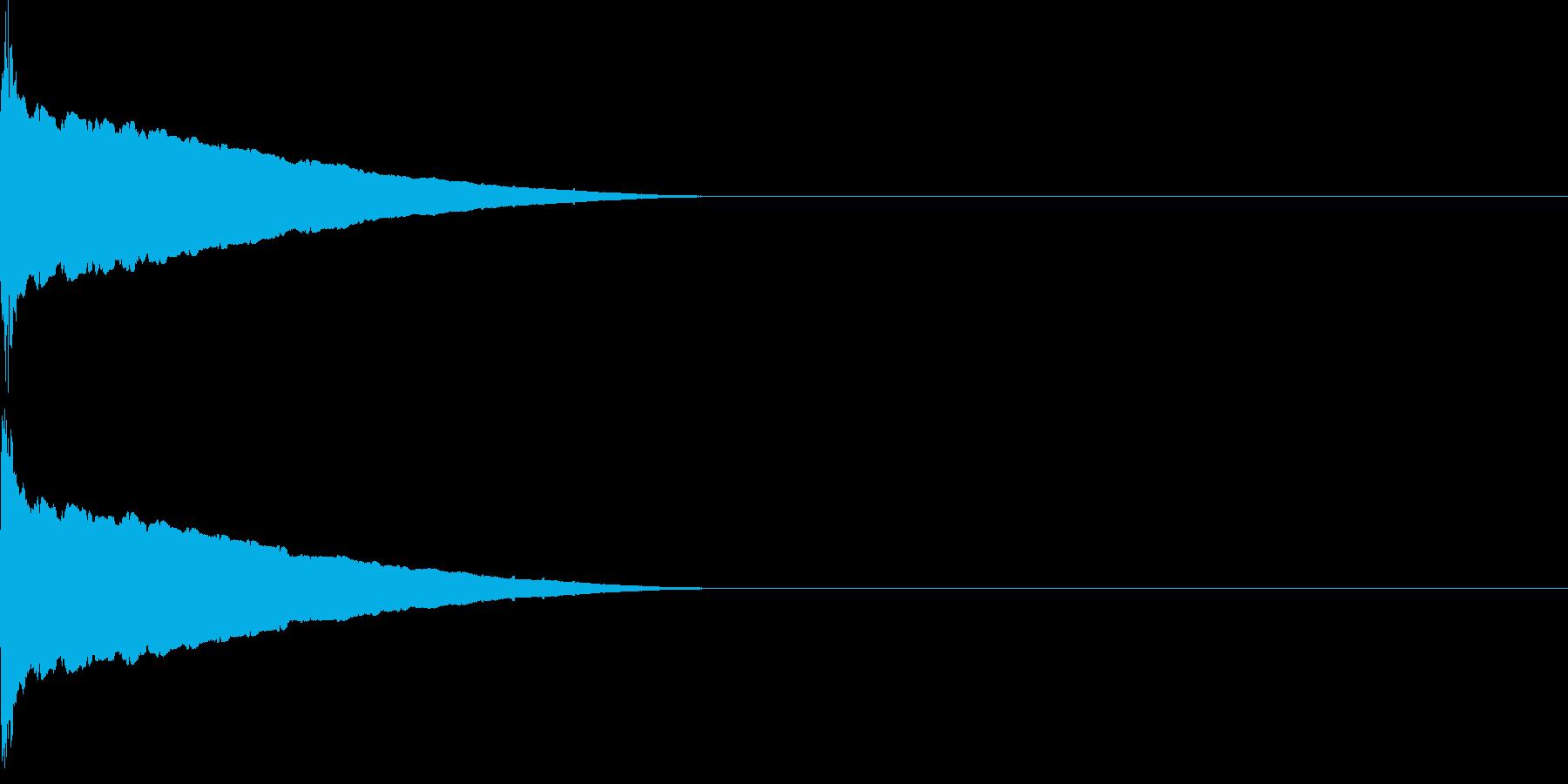 ピューン(低下_連続)の再生済みの波形