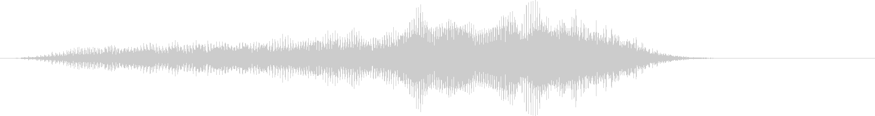 モォ〜♪牛の鳴き声の効果音05の未再生の波形