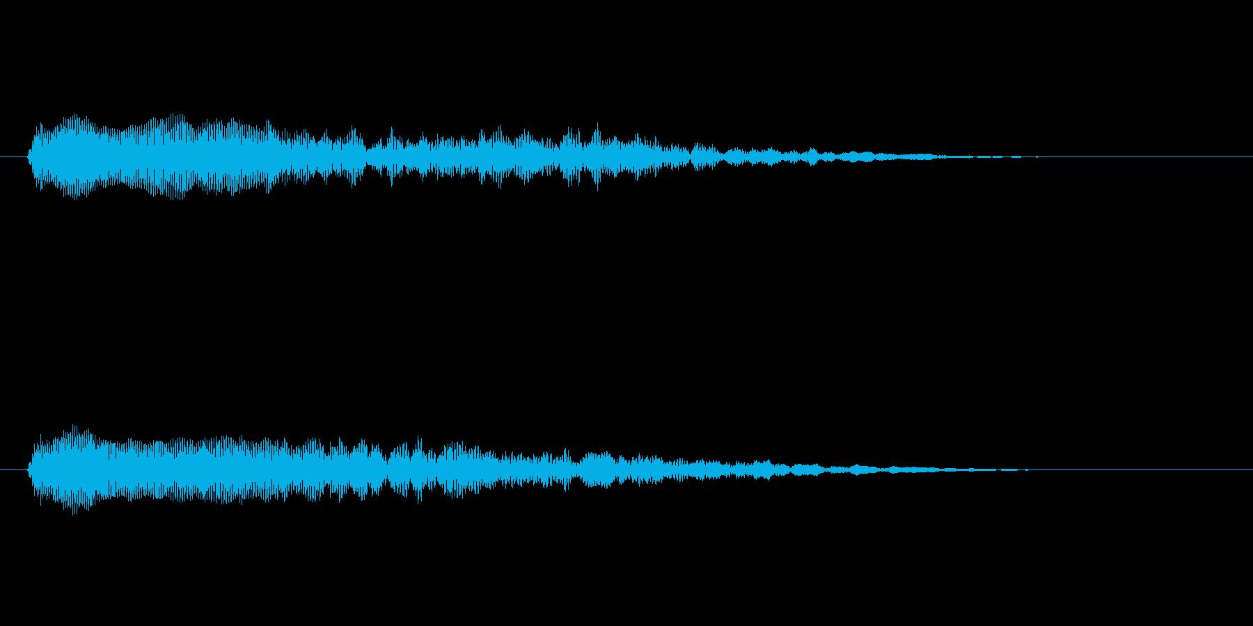 【ネガティブ04-1】の再生済みの波形
