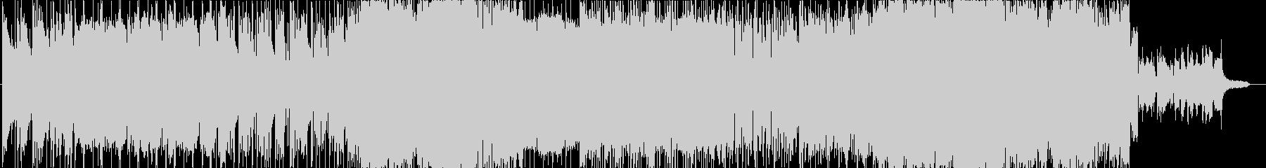 ギター・インスト作品の未再生の波形