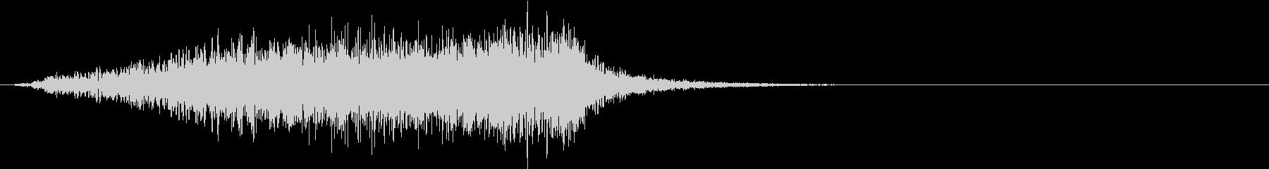 ホラー 近く 接近 恐怖 金属音 10の未再生の波形