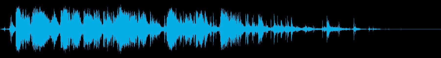 ビッグウッドクラッシュアンドスプリ...の再生済みの波形