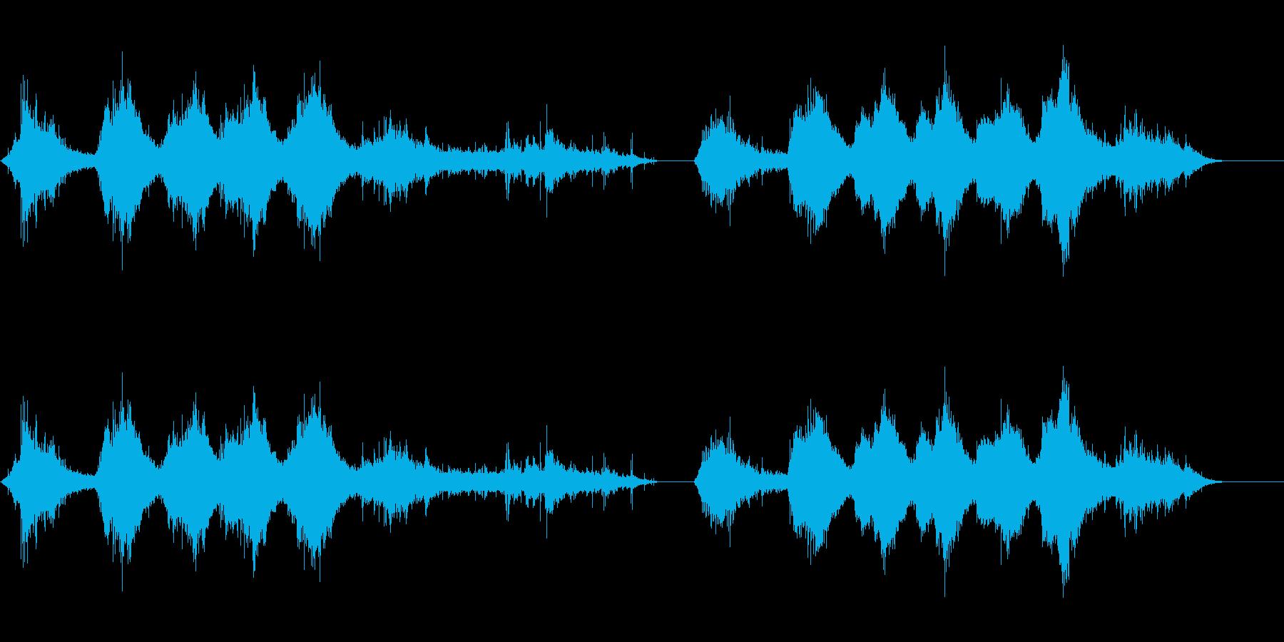 イルカ-屋内プールの再生済みの波形