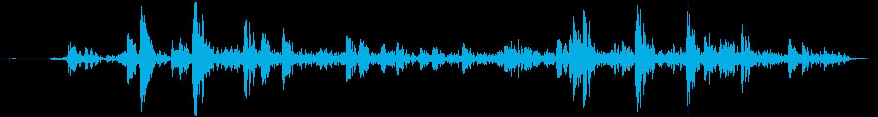 【ゲーム】海に潜るときの音/コポコポの再生済みの波形