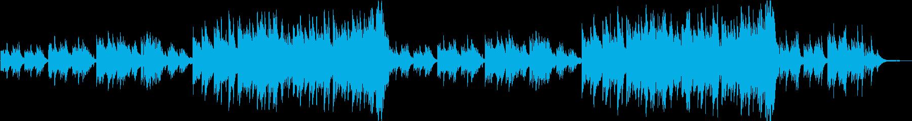 感動的なピアノ曲  ソフトverの再生済みの波形