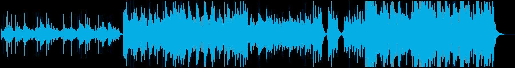 3拍子のハロウィン風オーケストラBGMの再生済みの波形