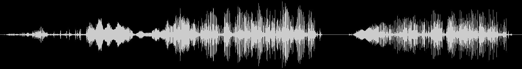 エイリアンラットの鳴き声、SCI ...の未再生の波形