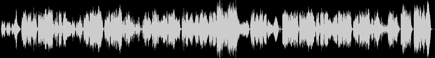 ゆったりとしたオーケストラな歌曲ですの未再生の波形