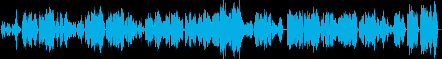 ゆったりとしたオーケストラな歌曲ですの再生済みの波形