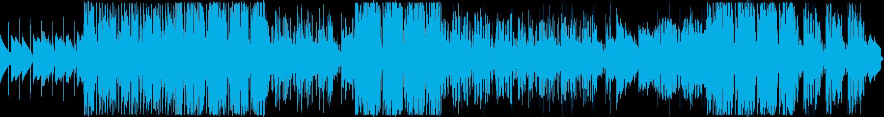 夜をイメージした幻想的なオシャレ系BGMの再生済みの波形