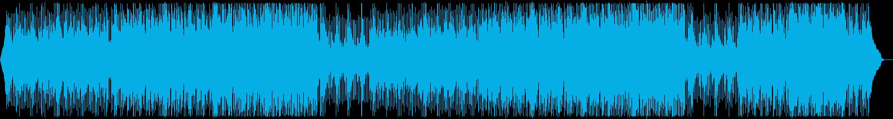 グローバル企業風ピアノ&ギター:フルx2の再生済みの波形