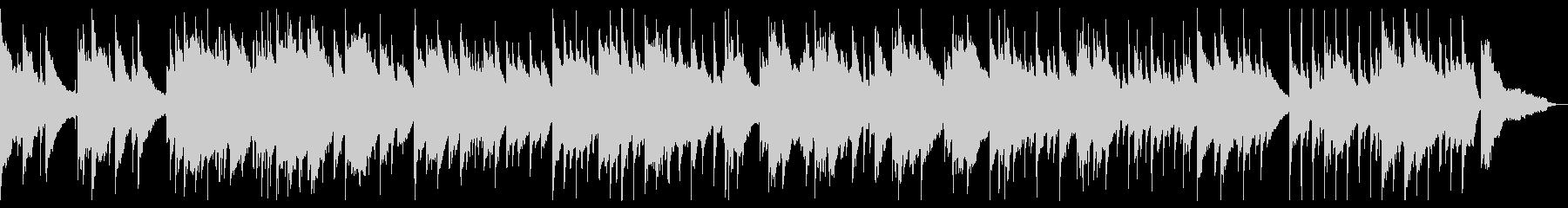 広い空を表現したピアノバラードの未再生の波形