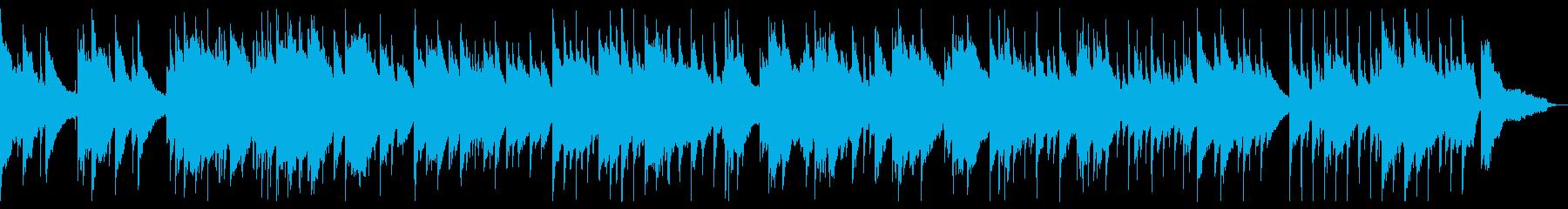 広い空を表現したピアノバラードの再生済みの波形