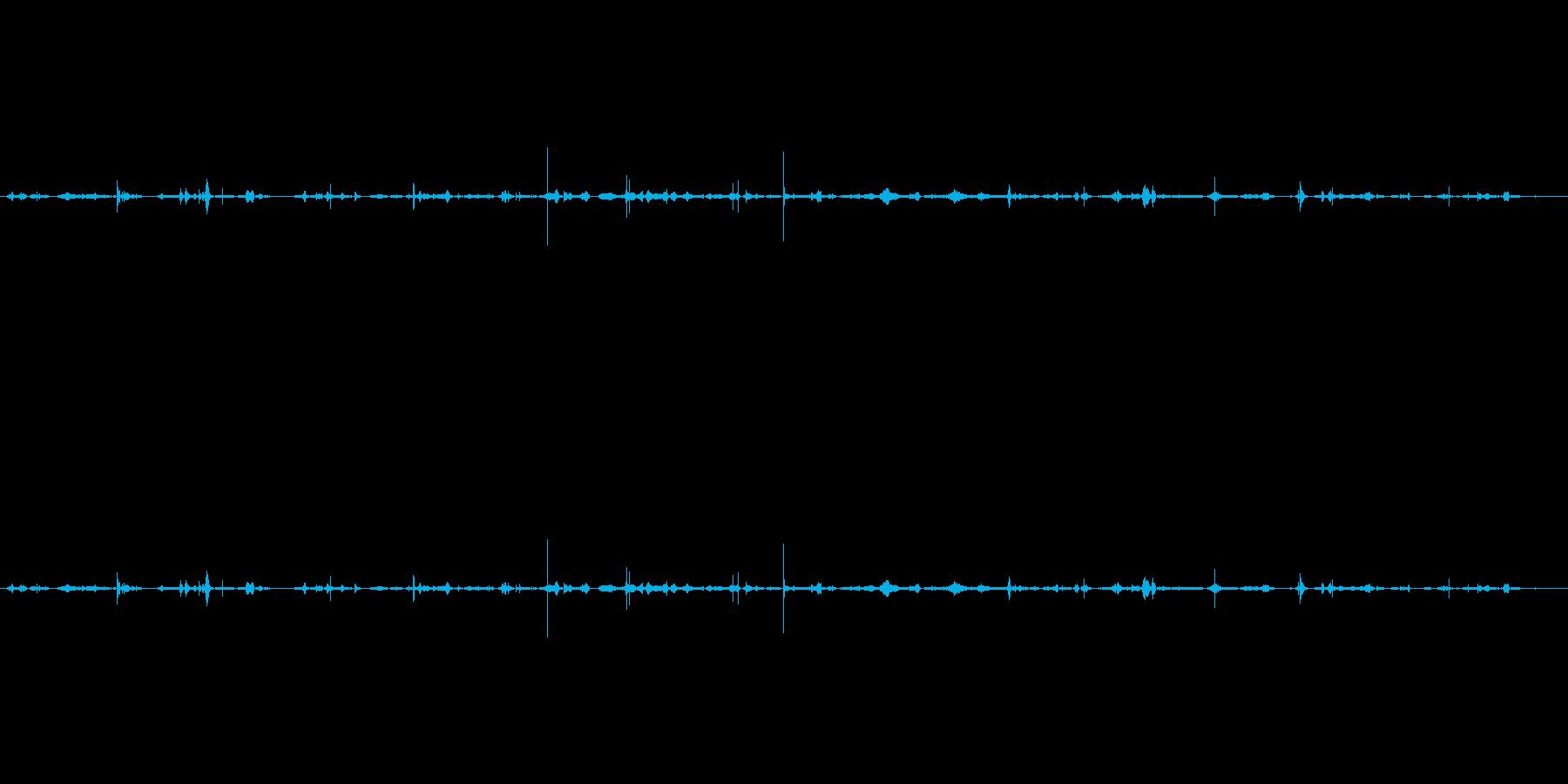 化粧 ボックスストローク処理02の再生済みの波形
