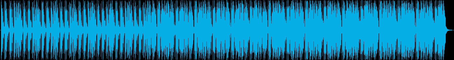 大人のイメージが漂うポップなBGMの再生済みの波形