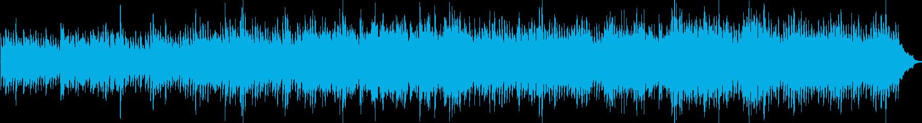ピアノ、ピチカートストリングス、少...の再生済みの波形