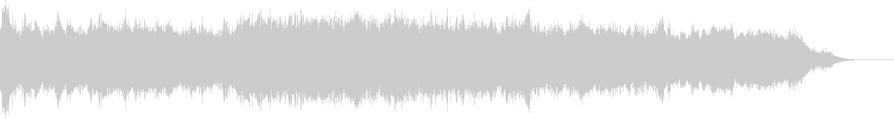 高音質Ver 壮大華やか 白鳥の湖 終曲の未再生の波形