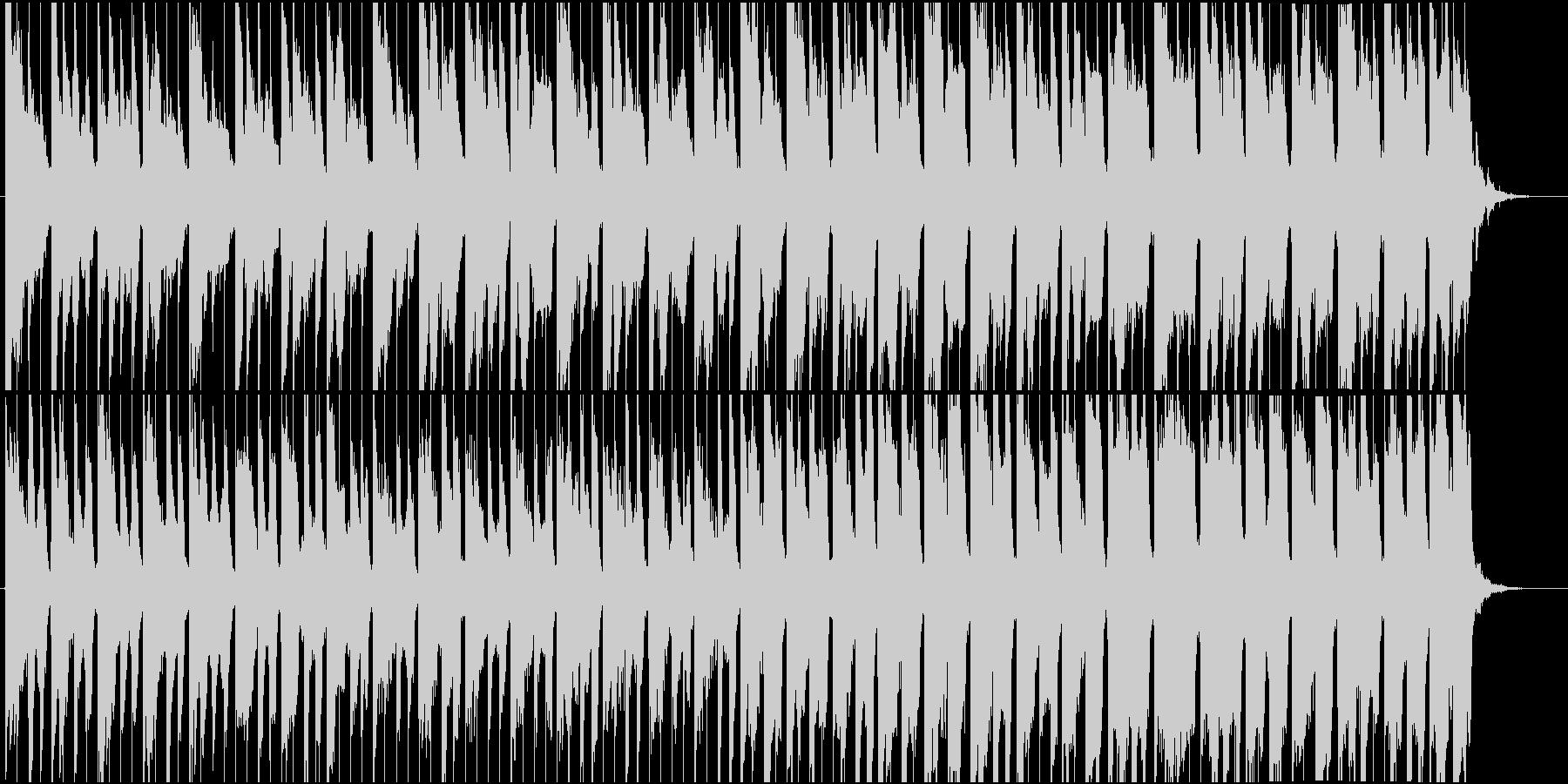 キュートでポップな楽しい気分になる1曲の未再生の波形