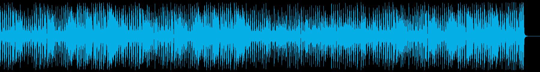 軽快でほのぼの温かい口笛ウクレレジャズの再生済みの波形