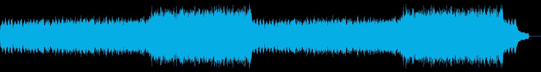 企業VP映像、119オーケストラ、爽快aの再生済みの波形