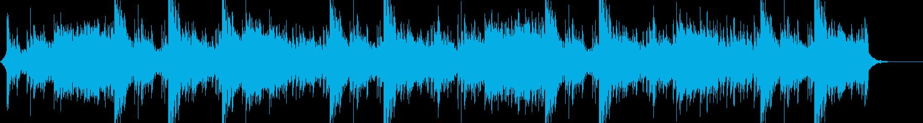 金属的なサウンド 戦闘シーンの曲の再生済みの波形
