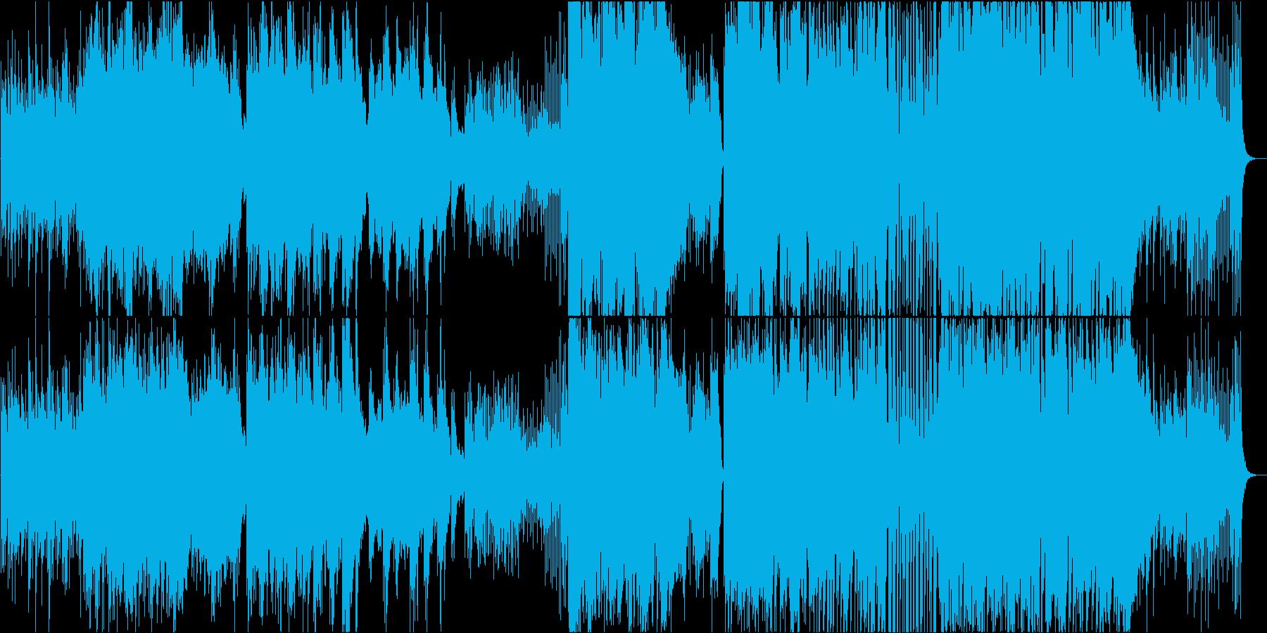 古き良き日本を思い出すインスト曲の再生済みの波形