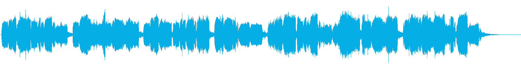 テューバの摩訶不思議なジングルの再生済みの波形