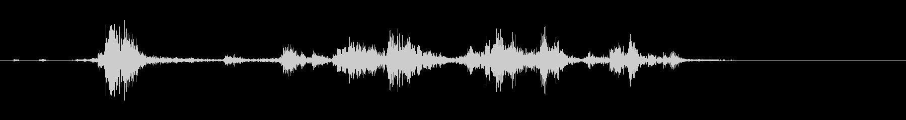 スプーンやフォークが擦れる音_01の未再生の波形
