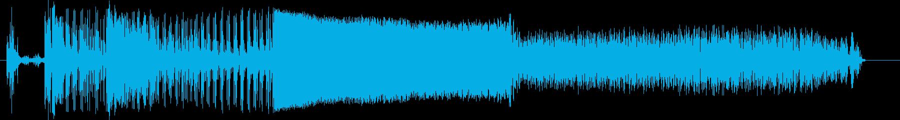自動車;開始/アイドル/オフ。ポル...の再生済みの波形