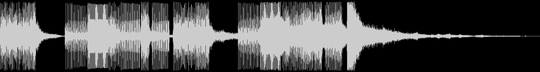 イージーリスニング ライフスタイルの未再生の波形