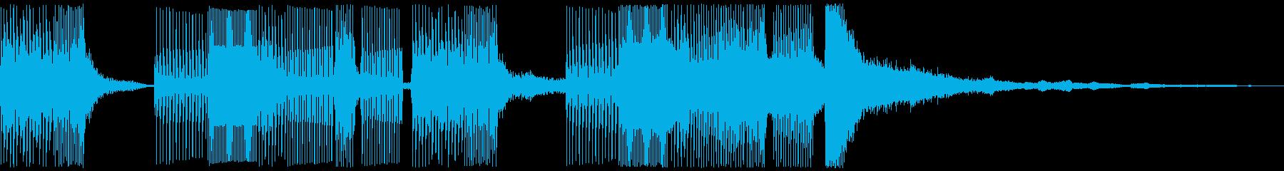 イージーリスニング ライフスタイルの再生済みの波形