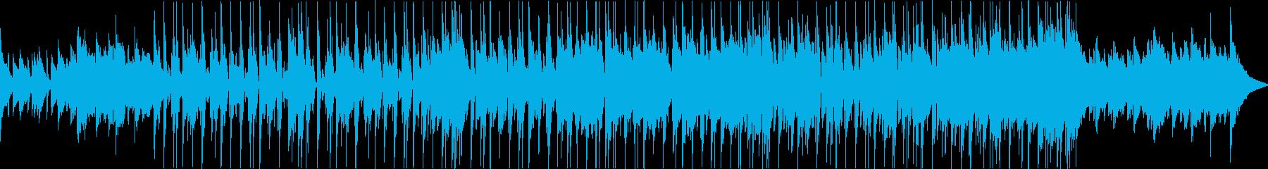 わくわくおしゃれ楽しいブルースaの再生済みの波形