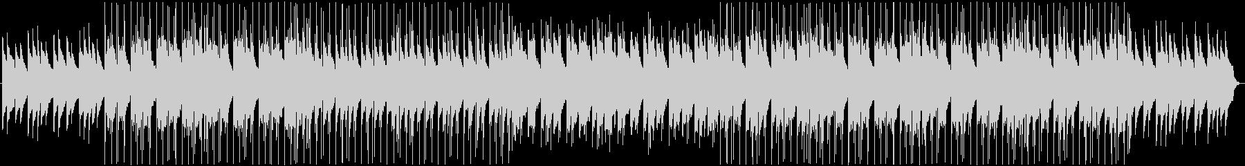 同じ感覚で時を刻むBGMの未再生の波形