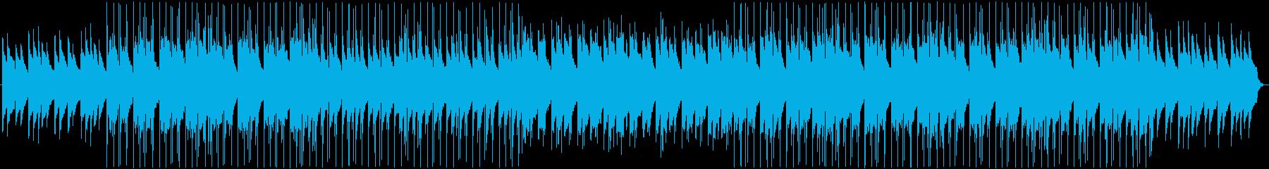 同じ感覚で時を刻むBGMの再生済みの波形