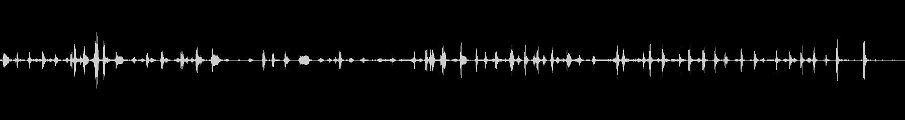 豚イノシシのうなり声の未再生の波形