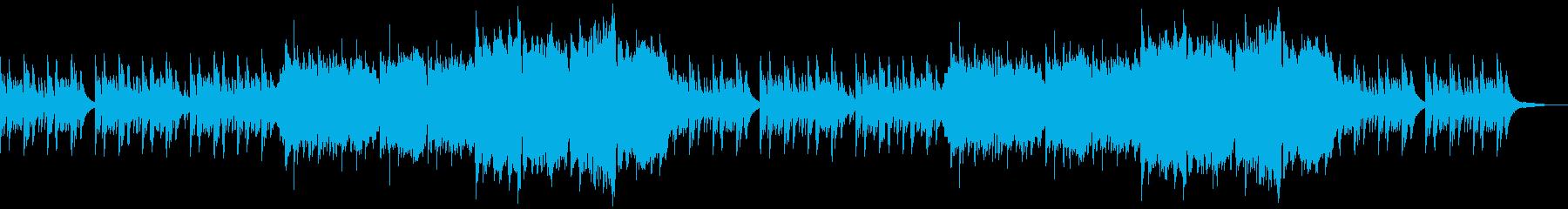 企業VPや映像74、オーケストラ、壮大aの再生済みの波形