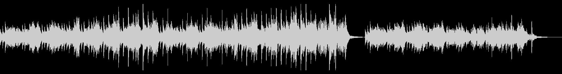 CMやVPに 癒しピアノ リラックス 森の未再生の波形