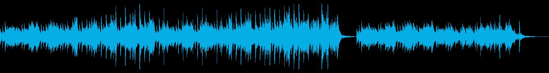 CMやVPに 癒しピアノ リラックス 森の再生済みの波形