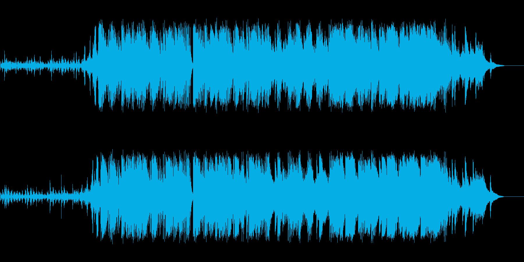 ミステリアス|ダークでかっこいいBGMの再生済みの波形