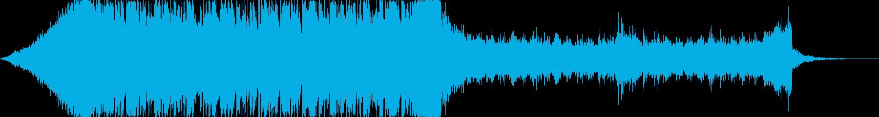 おしゃれクールカッコいいハウステクノCの再生済みの波形