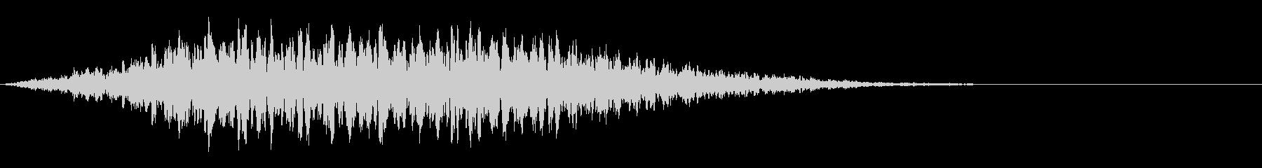 タイトルバック ホラー 9の未再生の波形