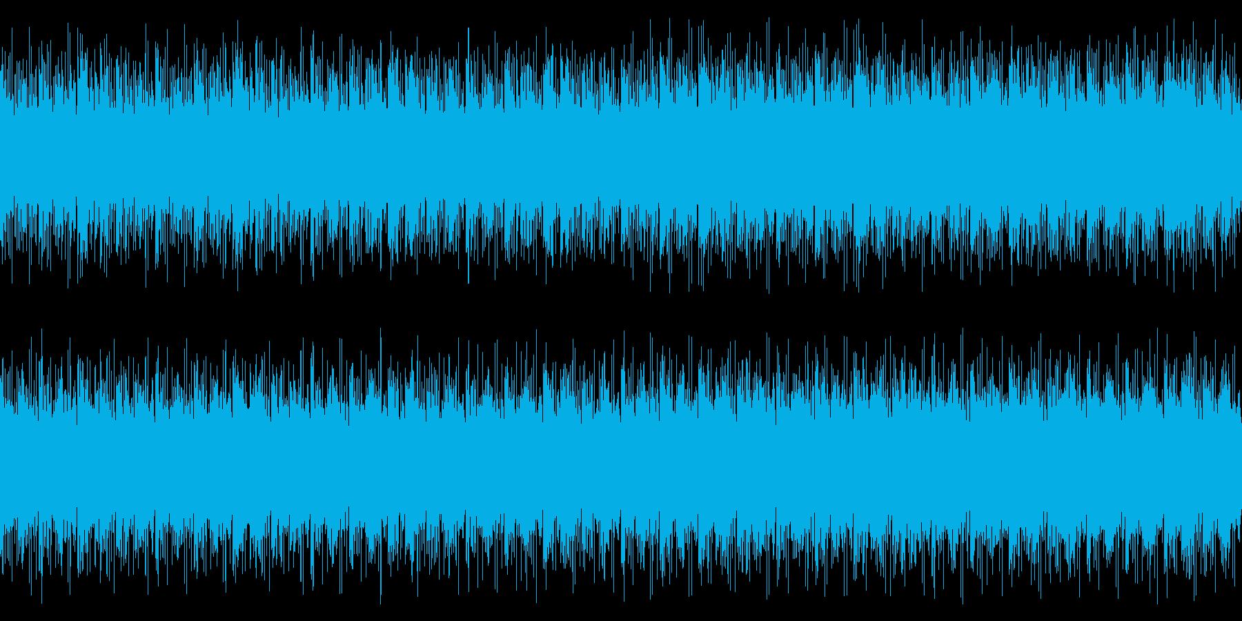ループ仕様・透明感があり前向きで穏やかの再生済みの波形