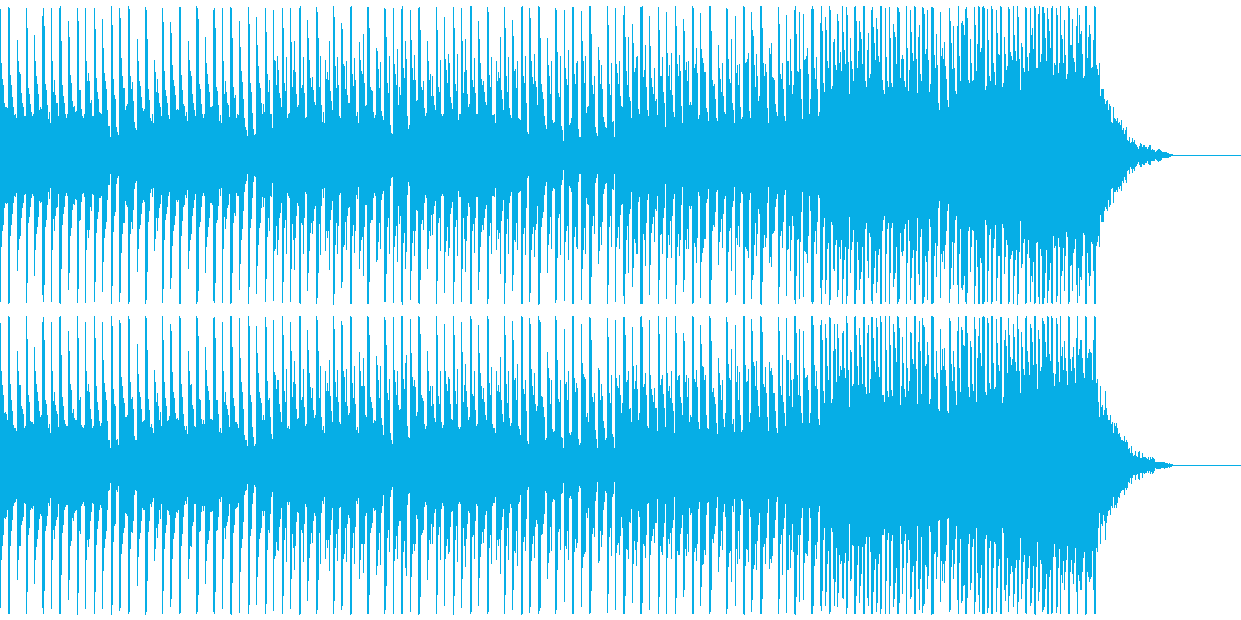 オシャレ・戦闘・スリリングEDM、M②の再生済みの波形