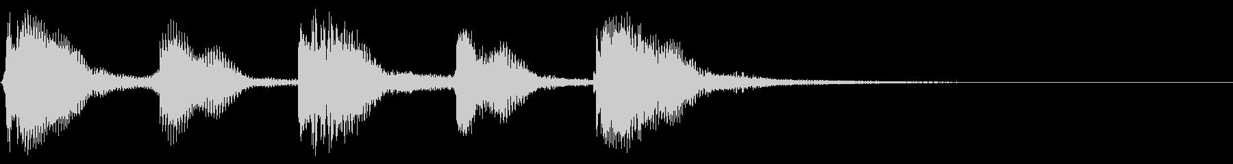 あかるい リコーダー トイピアノ の未再生の波形