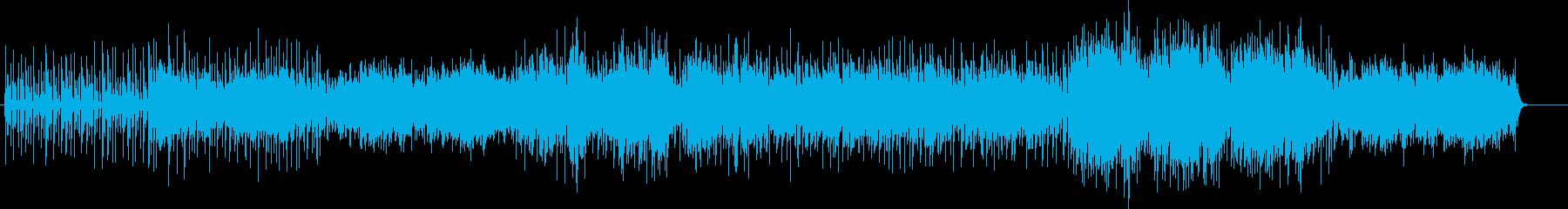 アラブ、インド風なエスニックBGMの再生済みの波形