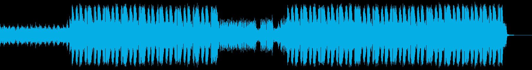 怖くてスピード感あるEDMトラップビートの再生済みの波形