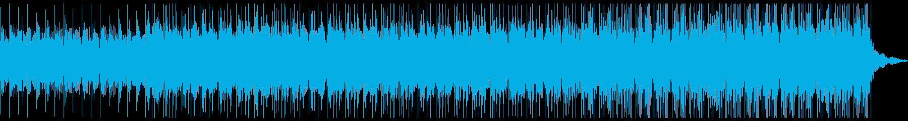 ニュース読みBGM/クール/淡々との再生済みの波形