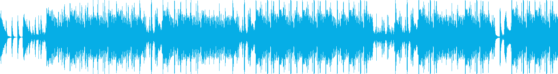 切迫ディレイの壮大なパーカスアンサンブルの再生済みの波形