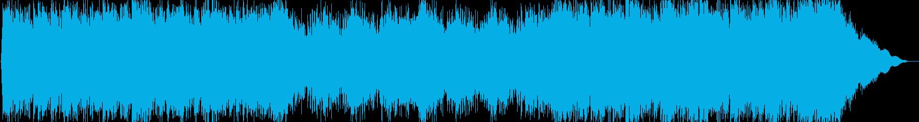 疾走感あふれるエモーショナルロックの再生済みの波形