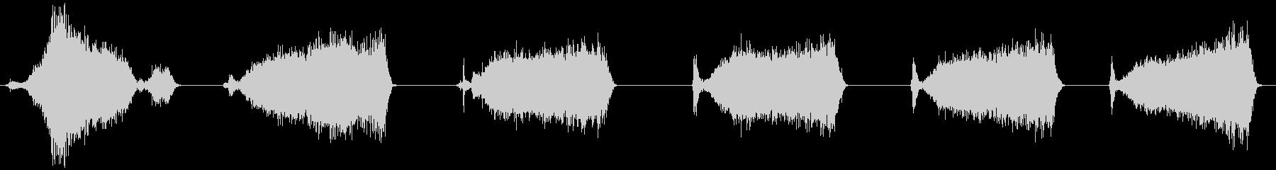 ハードブリストルプッシュほうき:コ...の未再生の波形